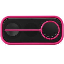 Caixa De Som C3 Tech Speaker Multilaser Sp209 Preto/rosa