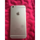 Iphone 6 16gb Plateado,usado , Sin Huella