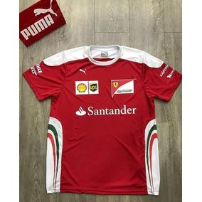 Nova Camiseta Funcional Scuderia Ferrari F1 Team 2018 Em Sp. 1. 12 vendidos  - São Paulo · Camiseta Puma Scuderia Ferrari Jacquard Tee Masculina - Verm fa6b15855b0