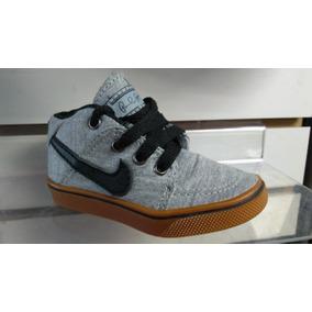 Bota Botinha Infantil Nike De Tecido - Do 18 Ao 25