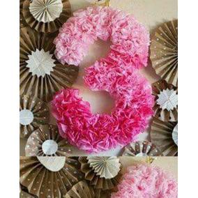 Letras Y Numeros Con Flores
