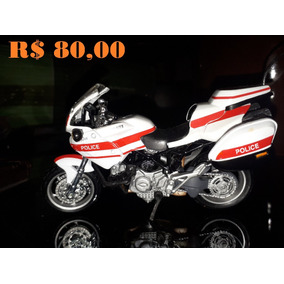 Miniatura De Moto Ducati Police - 1/18 - Usada