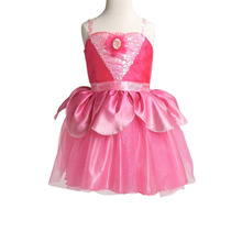 Disfraz Vestido Barbie Zapatillas Rosa Entrega Inmediata