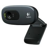 Webcam Logitech C270 720p Hd Microfono Skype Msn Fotos 3mpx