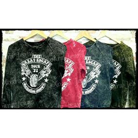 Buzo Sweater Mujer Algodón Batik C/ Estampa - Xoara Jeans