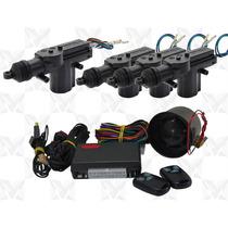 Alarme Carro Completo + Trava Elétrica 4 Portas