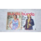 Revista Burda Tallas Mayores Con Moldes Años 1980 Al 90