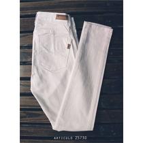 Pantalon /chupin Blanco Elastizado Marca Nahana Talle 44/46