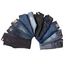 Kit 5 Calça Jeans Lote Atacado Varias Marcas Armani Calvin