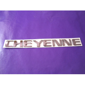 Emblema Cheyenne Camioneta Chevrolet Gm
