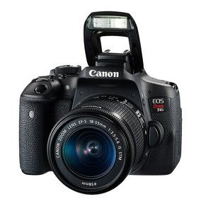 Camara Canon Eos Rebel T6i Reflex Ef Lente 18-55m Is Stm