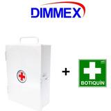 Botiquin Metalico Mediano + Letrero Dimmex. 22x30 Con Envío