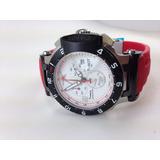Relógio Tissot Moto Gp Vermelho Cronógrafo =arremate Leilão
