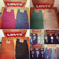 Jeans Y Pantalones Levis De Colores Modelos 505 Y 550!!