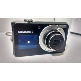 Câmera Samsung Pl100 Com Visor Frontal