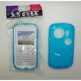 Capa Silicone Azul Para Celular Chines Xing Ling Q5 Mp9 Mp7