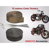 Cinta Termica Para Escapes: 15 Metros * 5cm + 4 Cinchos