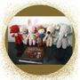 Amigurumis Para Baby Shower Niños Y Niñas. Decoración.
