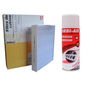 Filtro Cabine Ar Condicionado Zafira Todas + Higienizador
