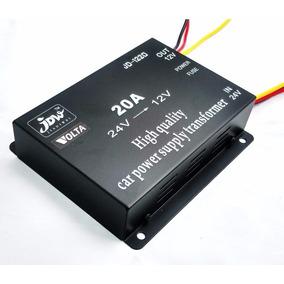 Transformador Volta Inversor De Voltaje De 24v A 12v 20a