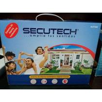 Sistema De Alarma Para Casas Digital 4 Zonas Marca Secutech