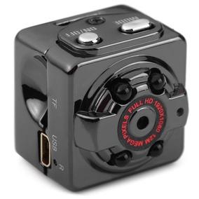 Mini Dv Câmera Espiã Visão Noturna Full Hd 1080p Carro