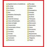 2200 Modelos De Contratos, Cartas E Documentos Comerciais.