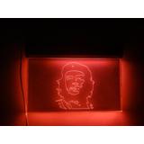 Cartel Placa Luminosa Imagen Che Guevara