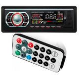 Mp3 Player Carro Som Automotivo Pen Driver Usb Toca Radio Fm