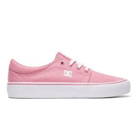 Tenis Dc Shoes Mujer Trase Tx J Skate Adjs300078-ros