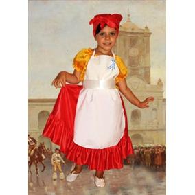 Disfraz De Lavandera Mazamorrera Talle 3 Fechas Patrias