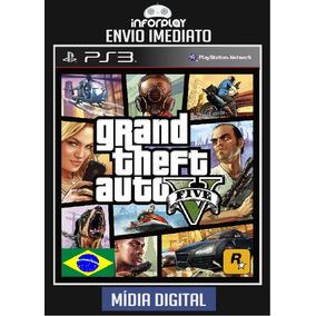 Gta V Gta 5 Grand Theft Auto V Português Pt-br Psn Ps3