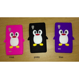 Capa Case Lg Optimus L9 3d Pinguim - Cada