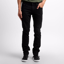 Calça Jeans Masculina Sarja Colorida Slin Lycra Stretch