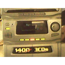 Mini Sound System Cce 1400 Watts Carroussel - 4 Caixas