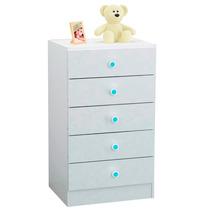 Mueble Cómoda Infantil Con 5 Cajones Centro Estant - C50i