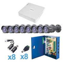 Kit Epcom Kestxlt8b 8 Ch Con 8 Cam Bala Lb7-turbo