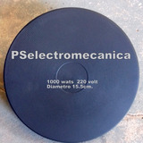 Repuesto Anafe Electrico 15,5 Cm De Diametro 1000 Wats