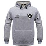 Blusa Moletom Agasalho Torcedor Botafogo Topper