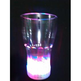 Vaso Luminoso Multicolor Coca Cola Led Tipo Ruleta 320 Ml