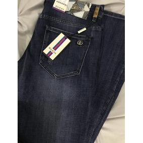 Pantalón Jeans Gucci Strech Excelente Calidad