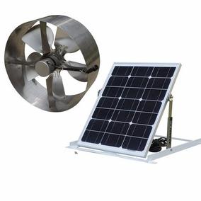 Ventilador Solar De Techo Pared Bodega 200m2 Alta Eficiencia