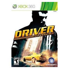 Xbox 360 - Driver San Francisco Mídia Física Seminovo