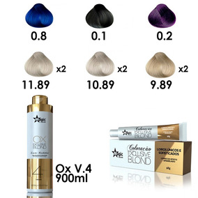 Kit Coloração + Ox 900ml
