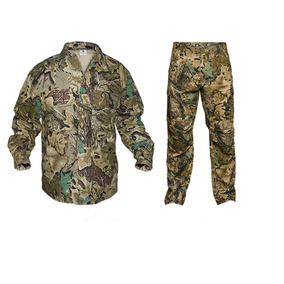 Conjunto Deportivo Forest Leather Camuflado Caza Camping 4d