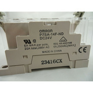 Omron G7sa-4a2b Relay 24vdc With P7sa-14f-nd Base
