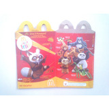 Kung Fu Panda - Envase Cajita Feliz Mc Donalds