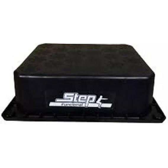Step Negro 30x40cm Entrenamiento Fitness
