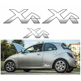 Kit Adesivo Emblema Faixa Ford Ka Xr