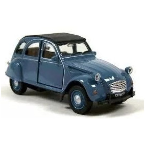Citroen 2cv Welly Nex Models Escala 1:24 Casa Valente